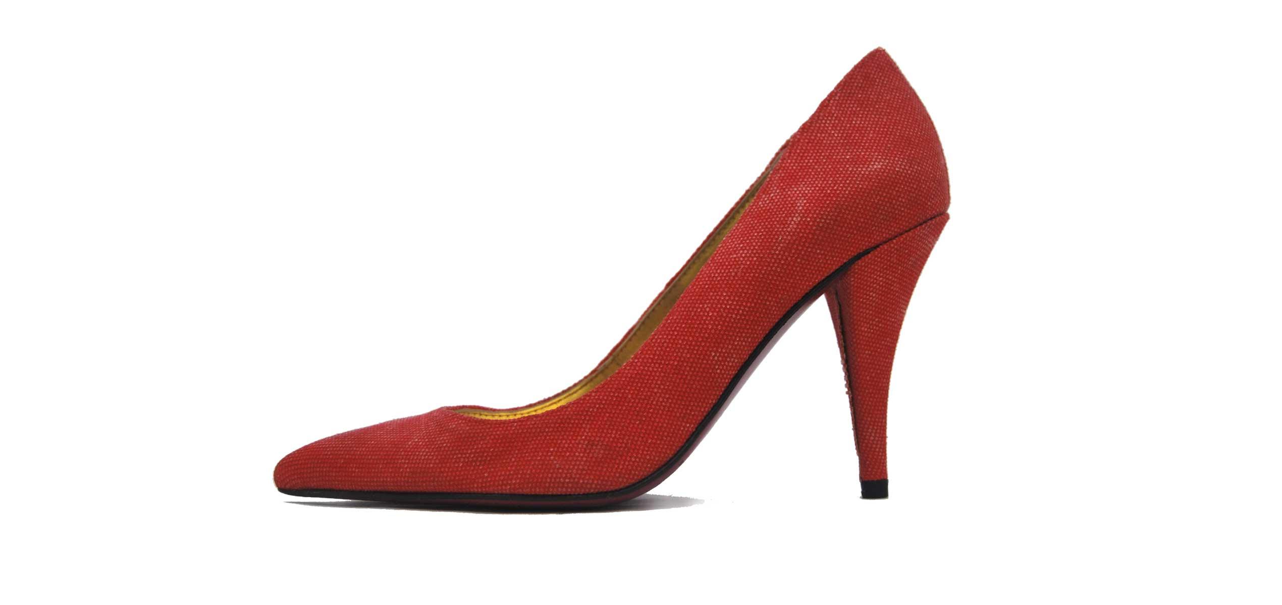 Foto 1 de Zapato Tacon Rojo