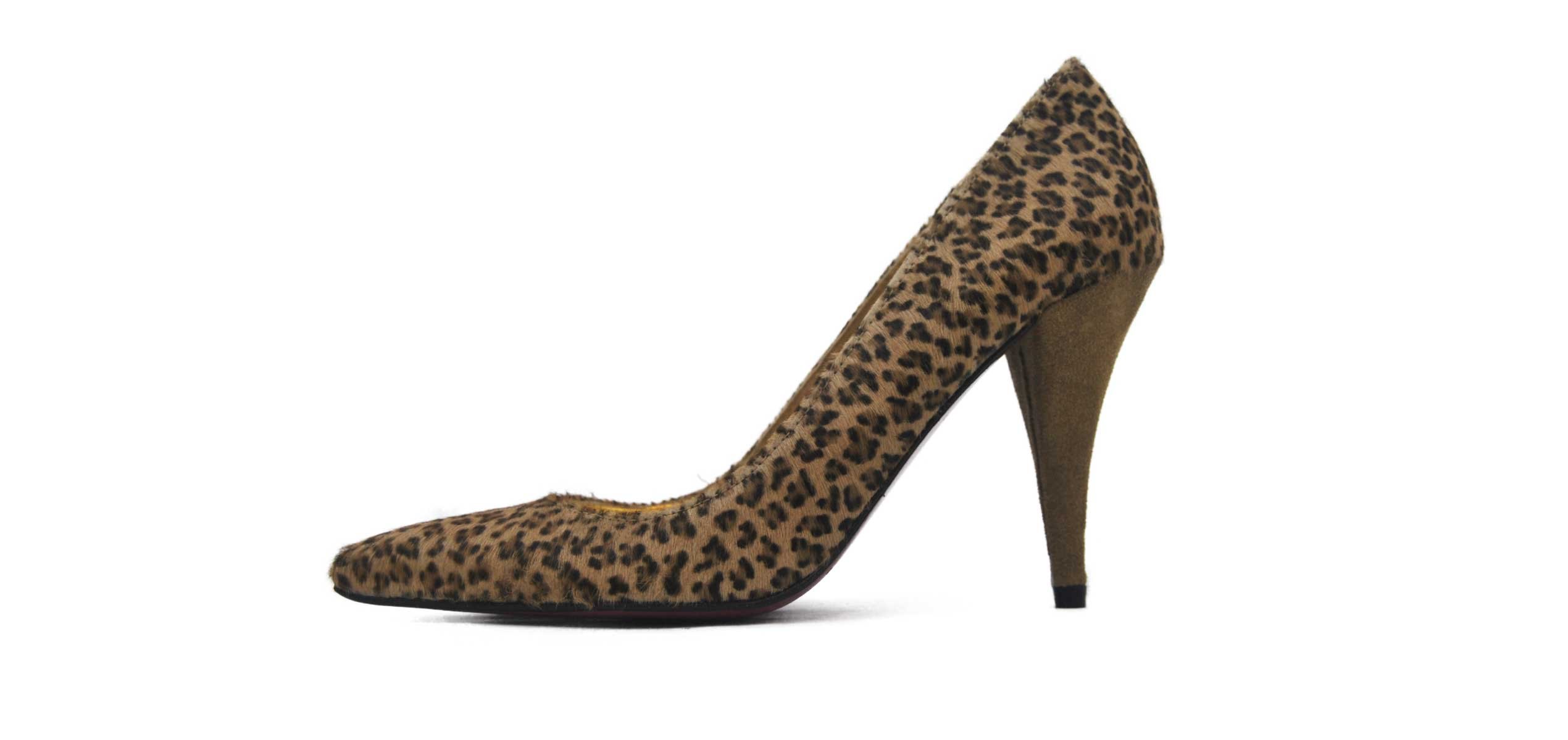 Foto 1 de Zapato Tacon Leopardo