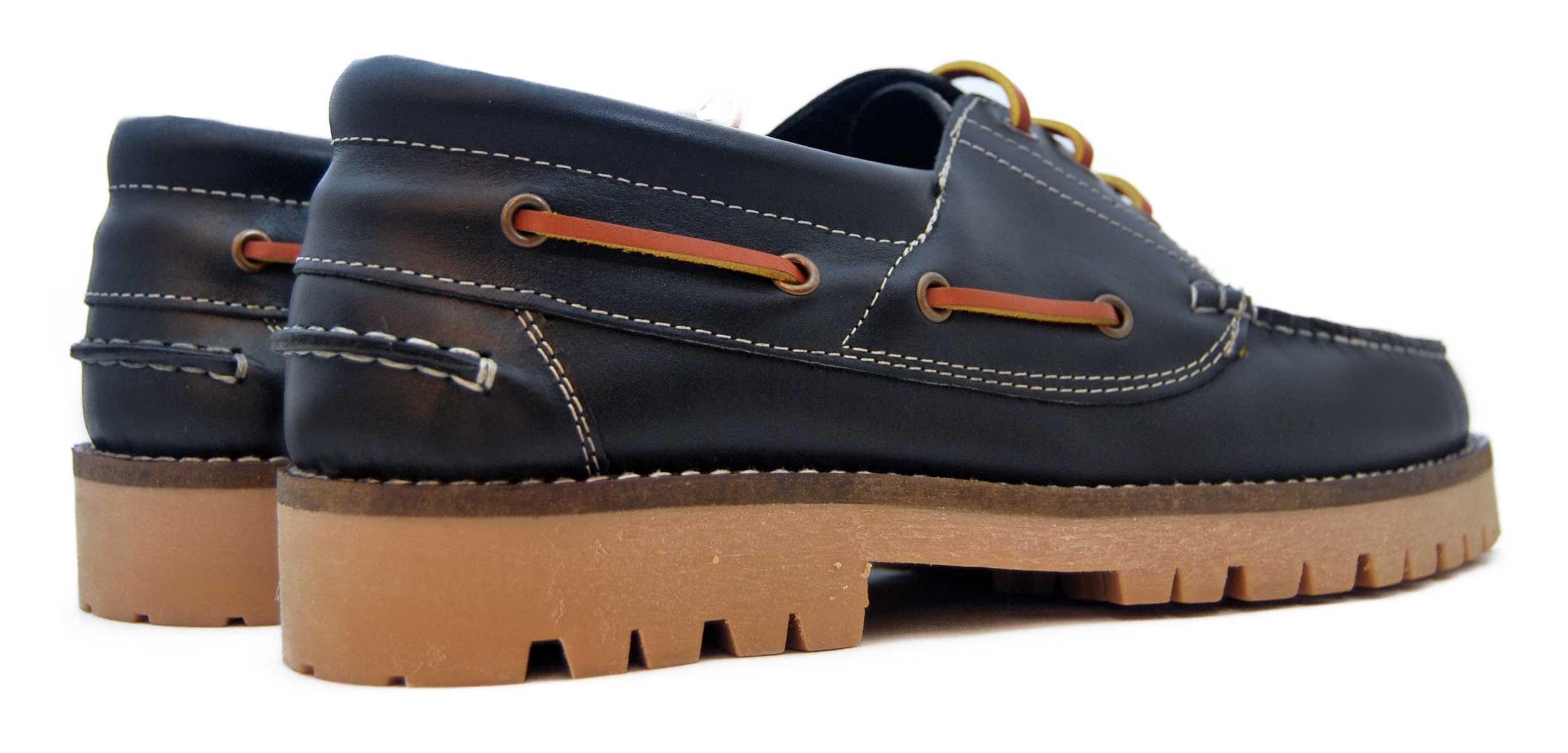 Foto 4 de Zapato Nautico Leñador Negro