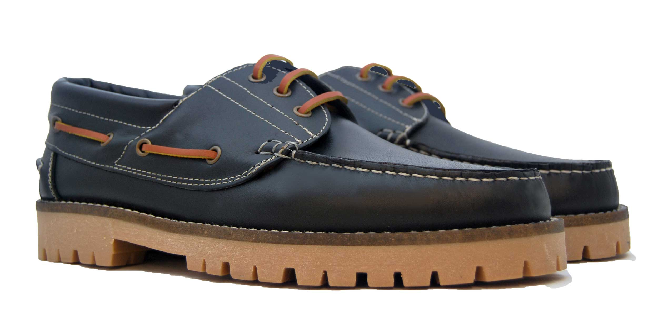 Foto 5 de Zapato Nautico Leñador Negro