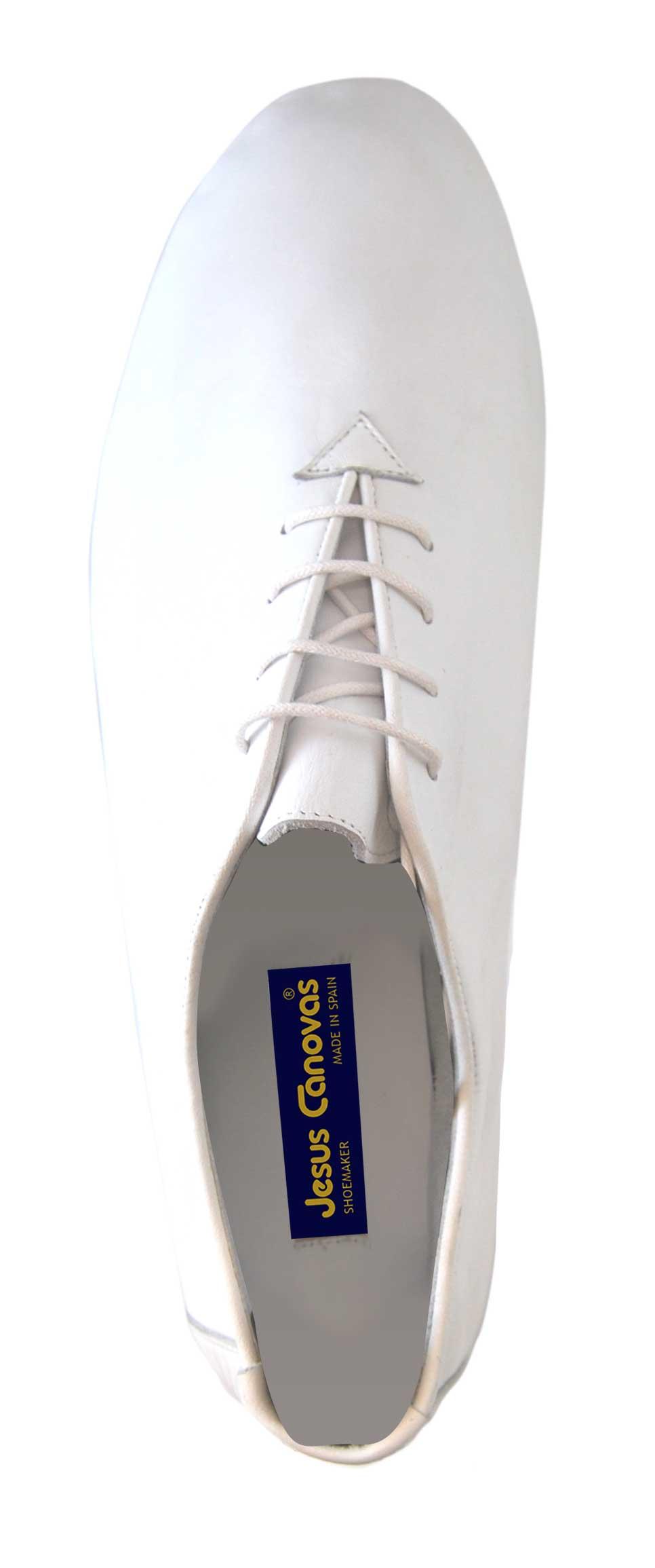 Foto 2 de Zapatos Julio Iglesias Cordon 529 JC Blanco Napa