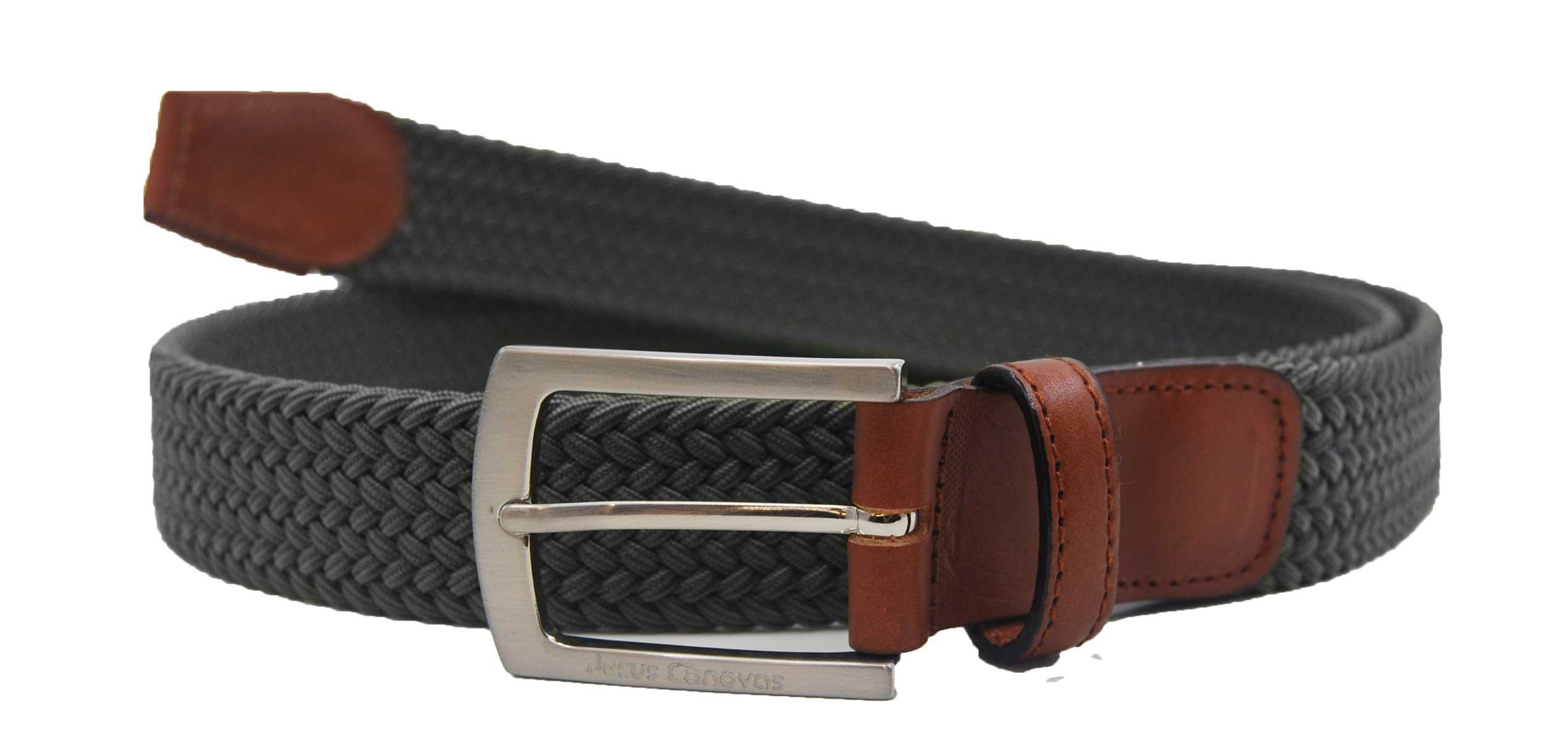 Foto 1 de Elastic Braided Belt Green english