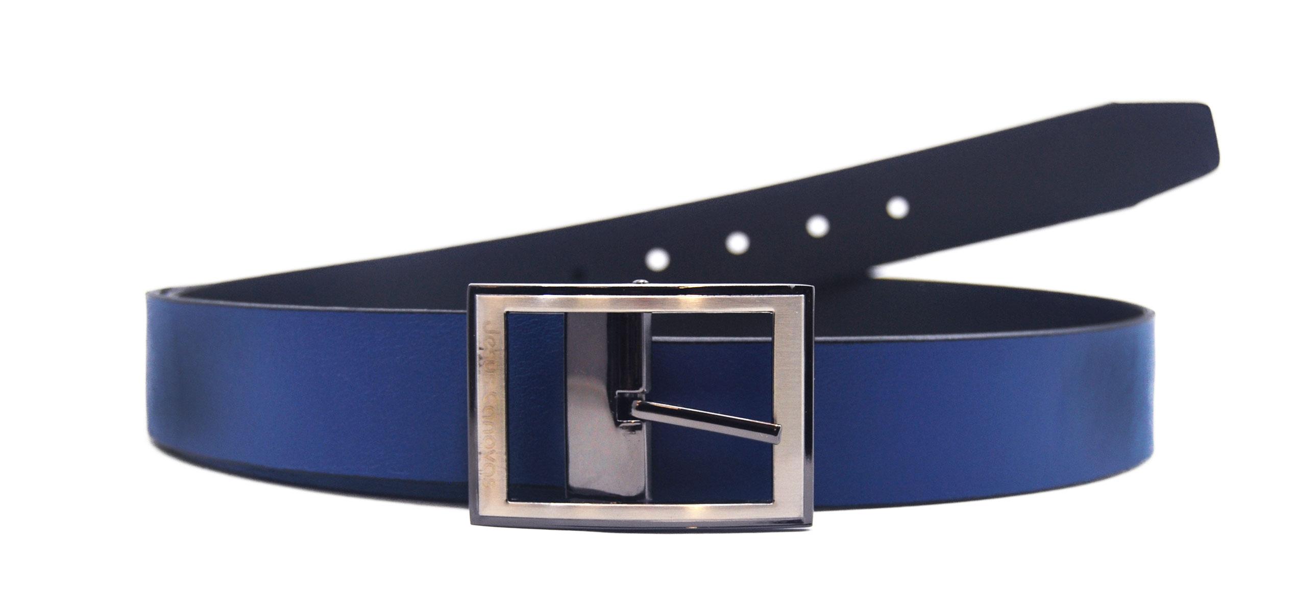 Foto 1 de Cinturón Reversible Azulon