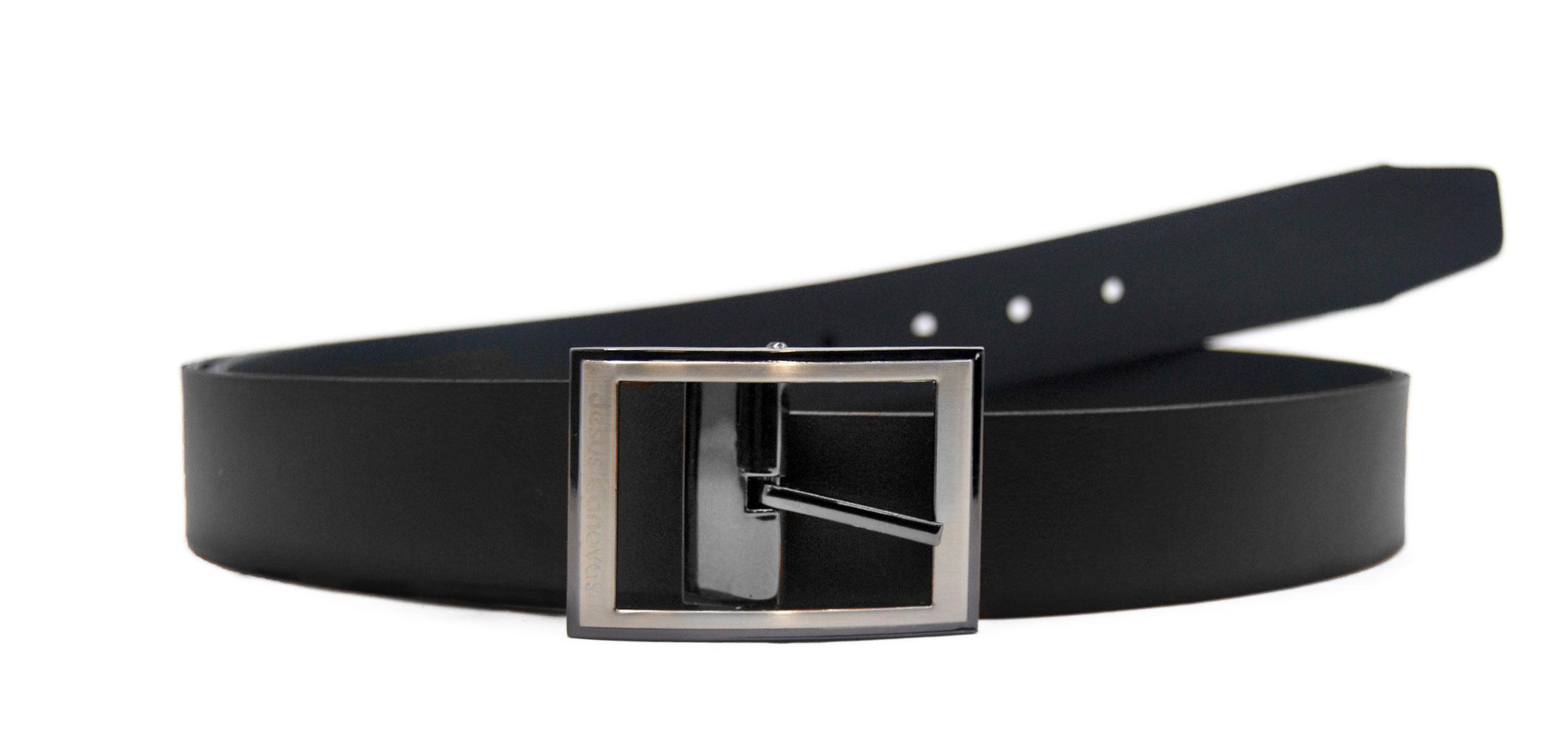 Foto 1 de Cinturón Reversible Negro