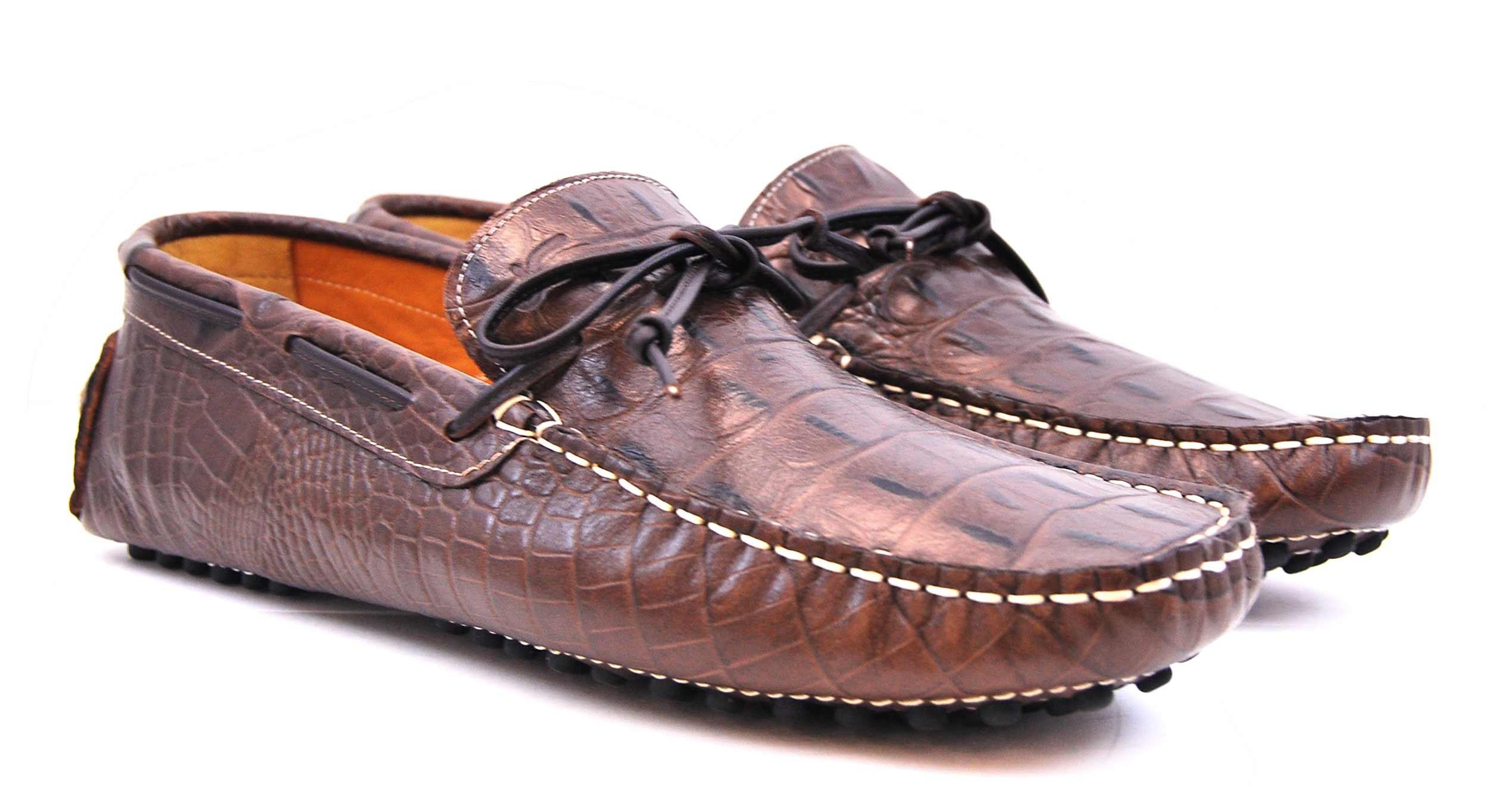 Foto 5 de 3059 Croco Leather Marron-Brown