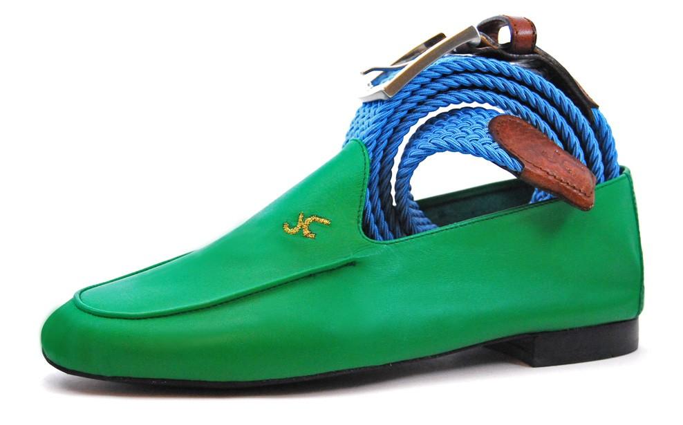 Foto 6 de Zapatos Julio Iglesias 528 JC Hierba Piel Napa