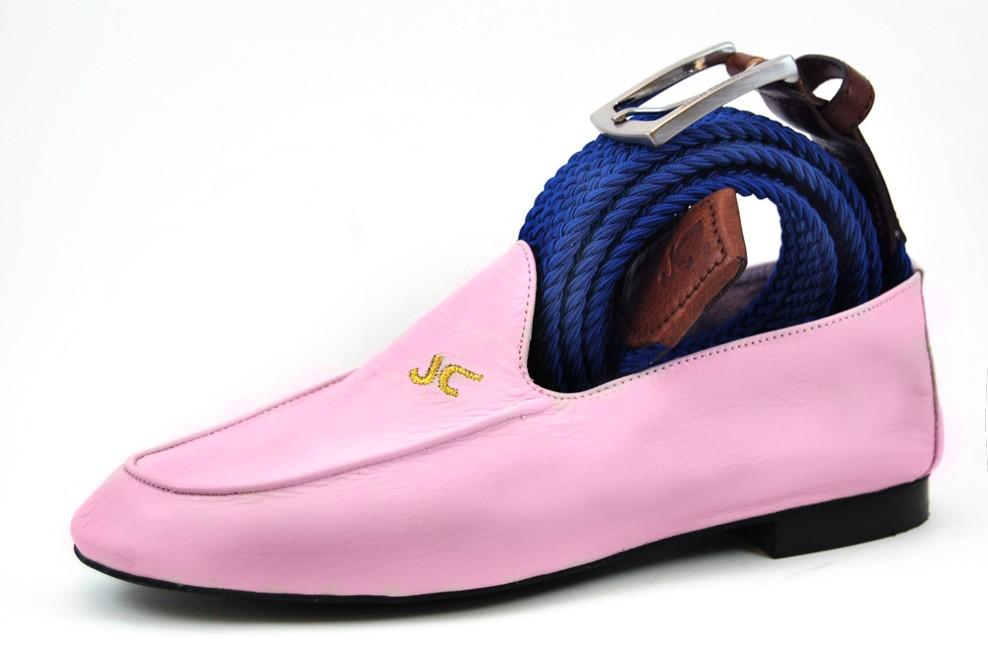 Foto 6 de Zapatos Julio Iglesias 528 JC Pink Napa Piel Original