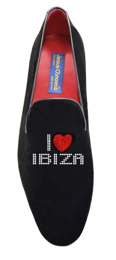 Foto 1 de Velvet Slippers Love Ibiza Swarovsky