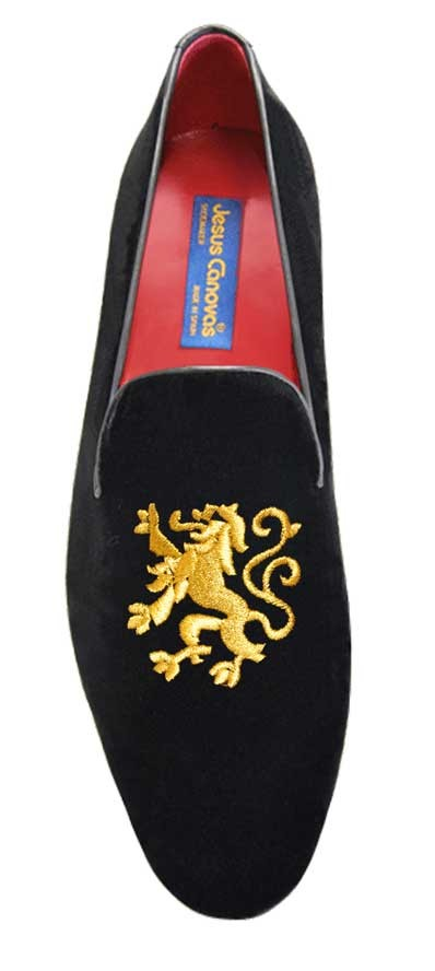 Foto 1 de Velvet Slippers Lion Gold