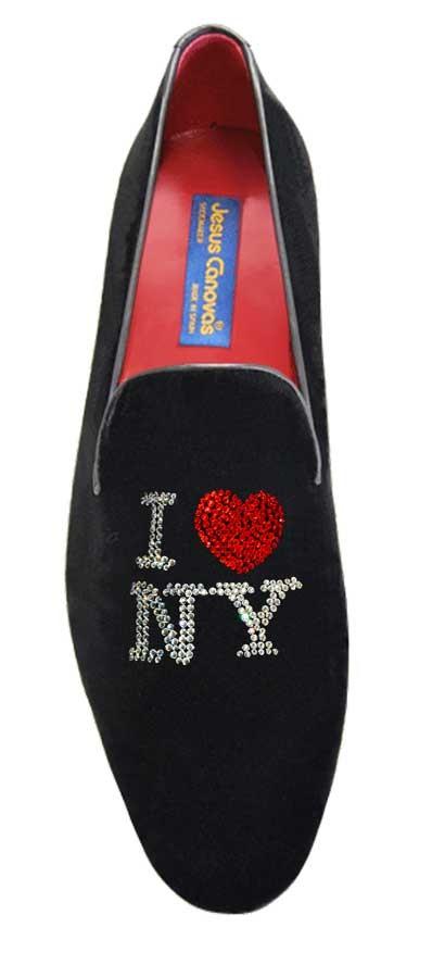 Foto 1 de Velvet Slippers I Love NY Swarovsky