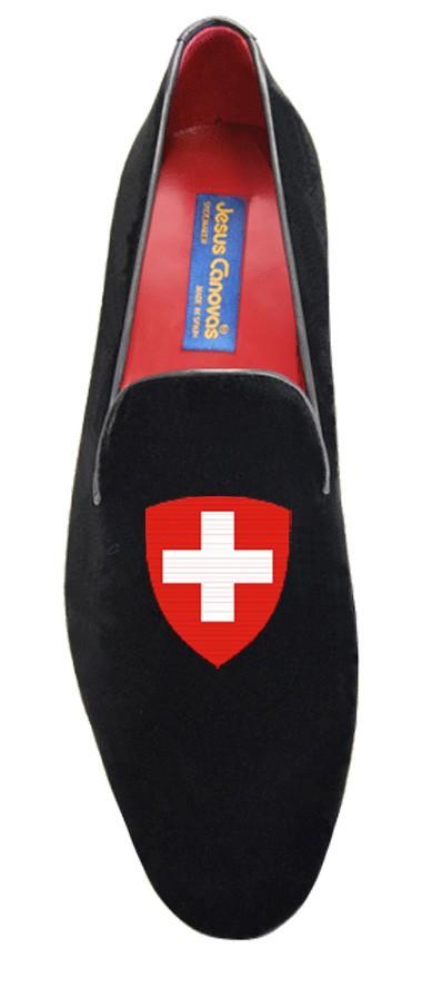 Foto 1 de Velvet Slipper Swiss Black