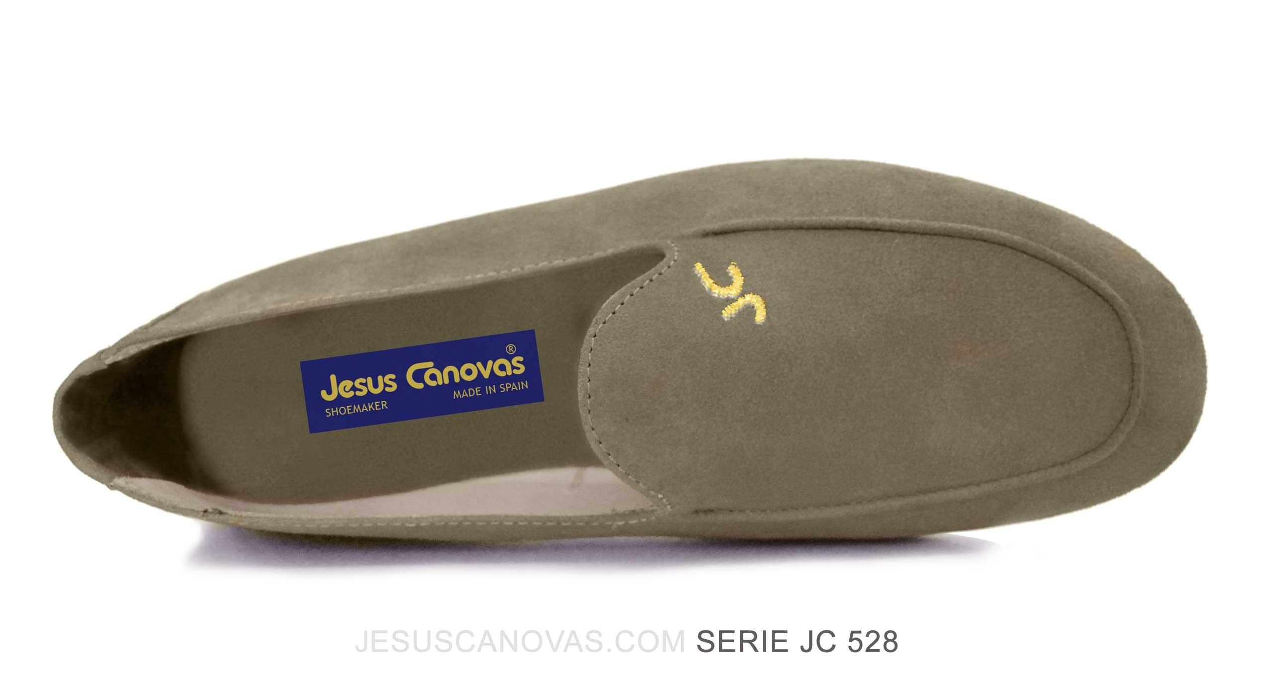 Foto 2 de Zapatos Julio Iglesias Mocasin Ceniza ante