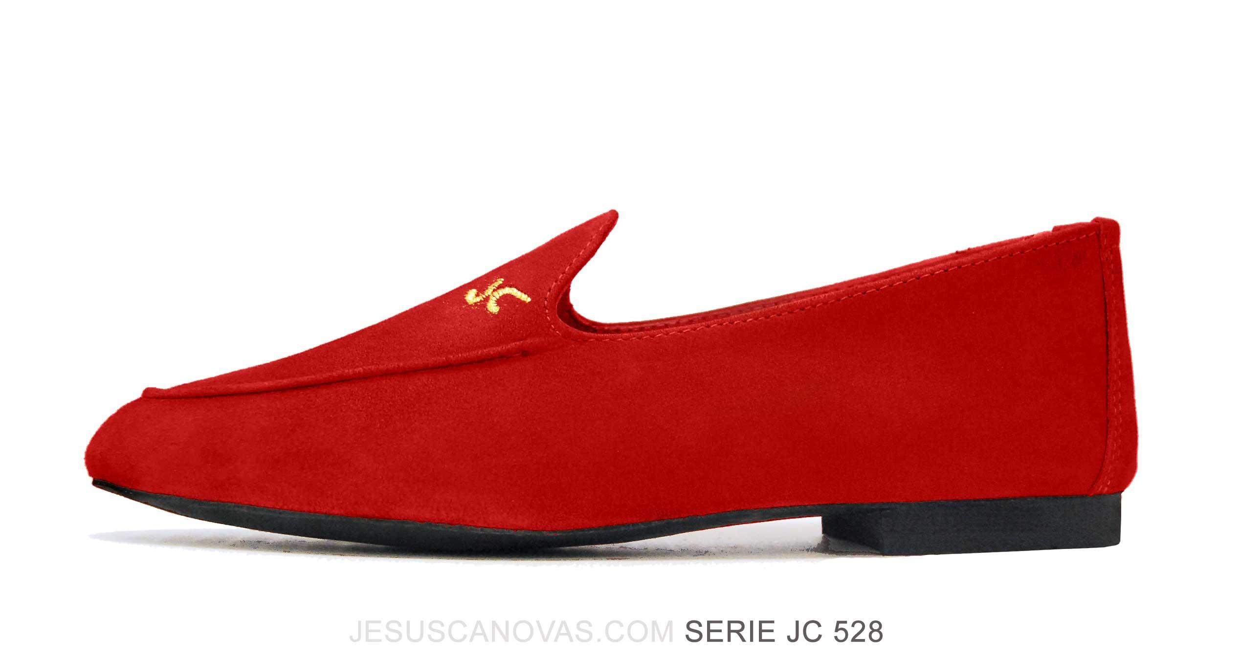 Foto 1 de Zapatos Julio Iglesias Mocasin Rojo Pasion Ante
