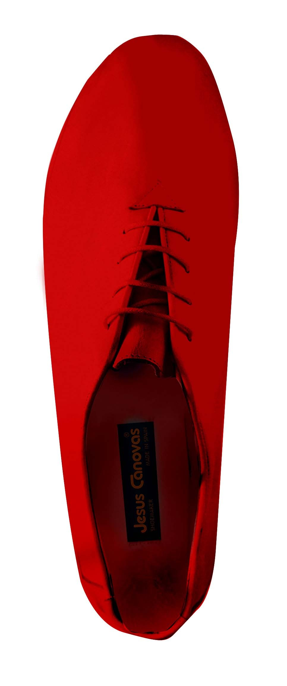 Foto 3 de Zapatos Julio Iglesias Cordon 529 JC Rojo Napa